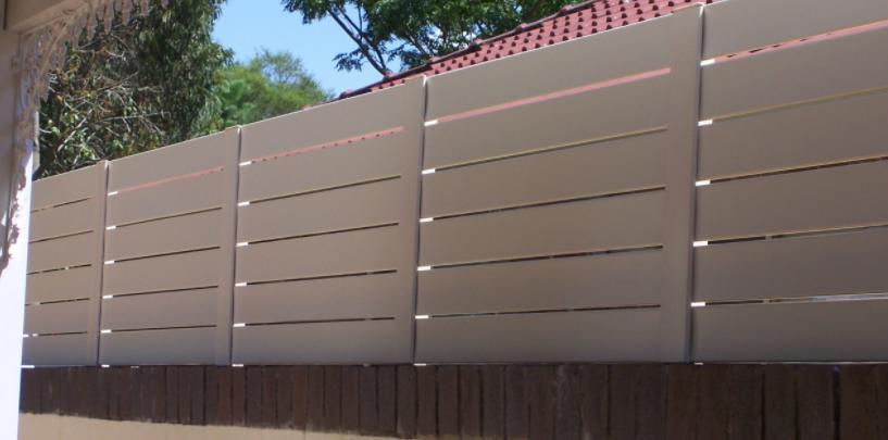 aluminium slat panels Sydney